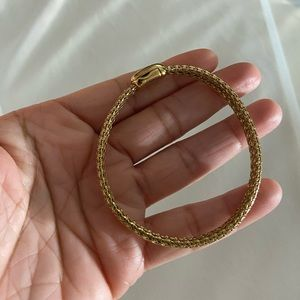 Good condition Monet gold tone  bracelet